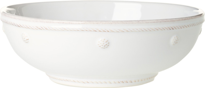 Coupe Pasta Bowl White