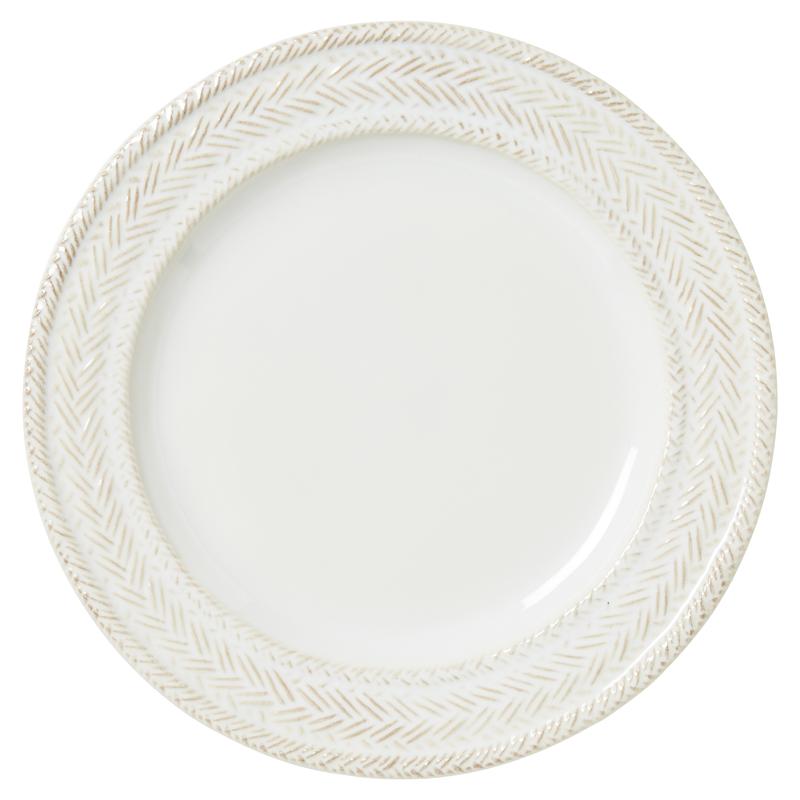 Le Panier Dessert Plate White